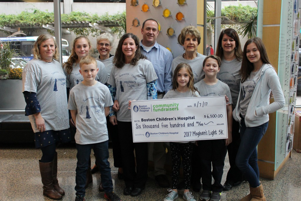 2017 Boston Children's Check Presentation